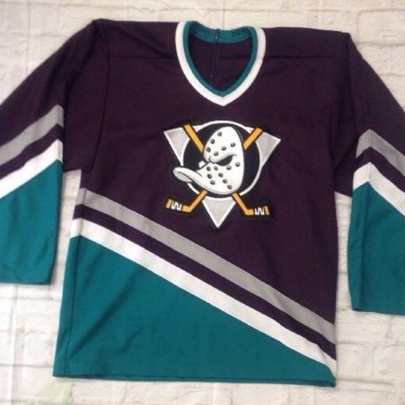 aa6f98df9 CCM Sweaters | Vtg 90s Anaheim Ducks Nhl Hockey Jersey Sewn | Poshmark